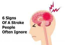 6 علامت خطرناک برای سکته مغزی