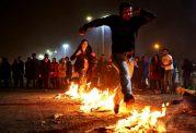 نوجوانان در معرض آسیب های چهارشنبه سوری