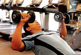از وزنه سبک تر استفاده کنید، عضلات بیشتری بسازید
