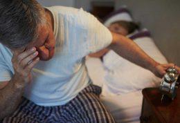 بهبود اختلالات خواب در سالمندان