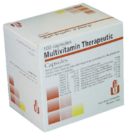 مولتی ویتامین مینرال