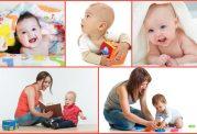 نوزاد 6 ماهه و 15 بازی و فعالیت سرگرم کننده برای آنها