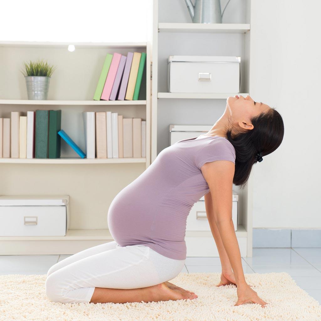 ورزش شکم در دوران بارداری