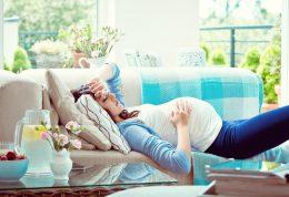 سه ماهه سوم بارداری و کاهش درد و بی خوابی آن