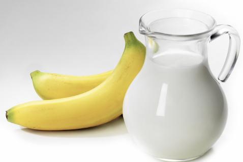 رژیم موز و شیر