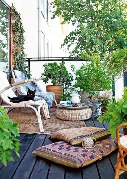 فنگ شویی حیاط خانه