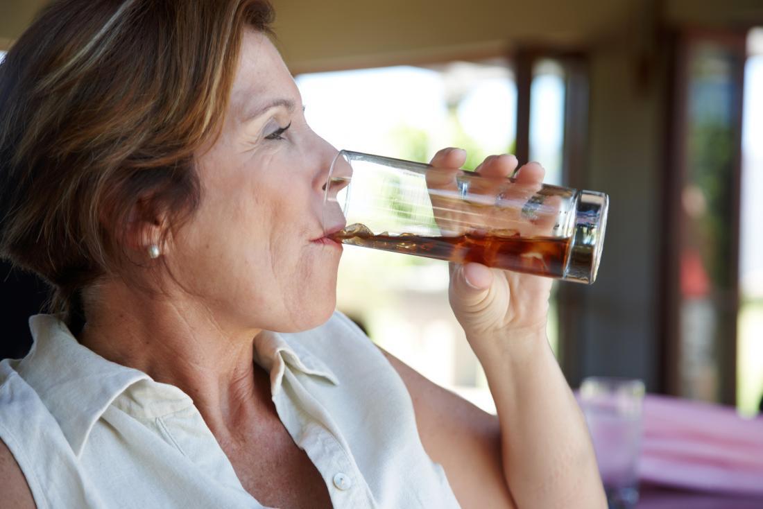 ارتباط نوشیدنی های رژیمی با خطر سکته مغزی بعد از یائسگی