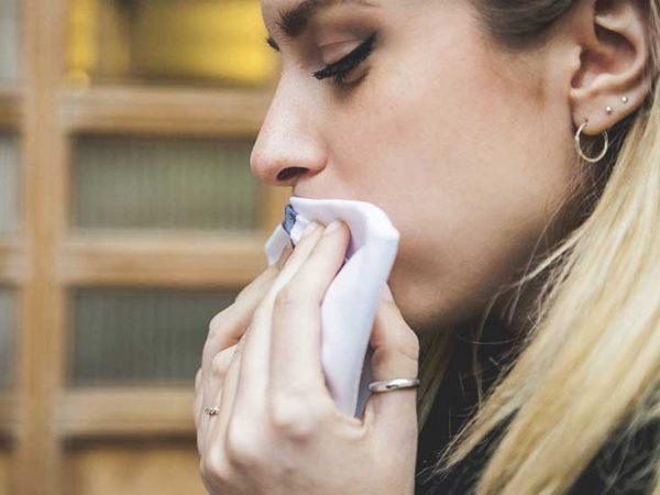 بزاق دهان در طول بارداری