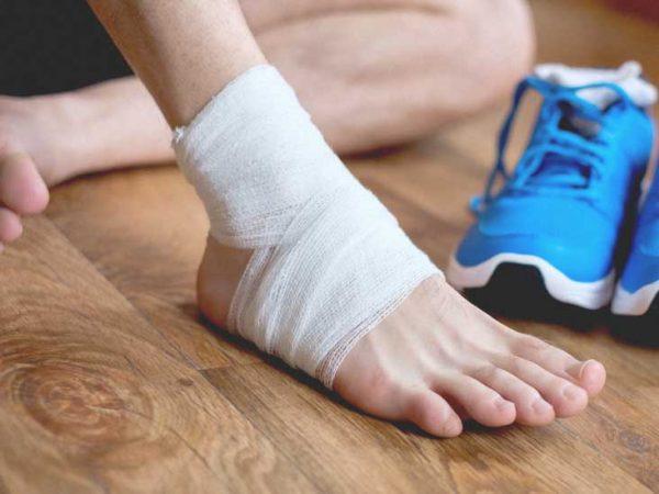 مچ پا؛ انواع صدمات مچ پا و راه های درمان آنها