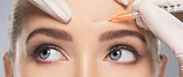 درمان چین و چروک پیشانی با بوتاکس
