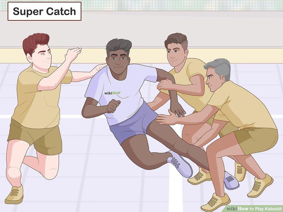قوانین ورزش کبدی چیست؟