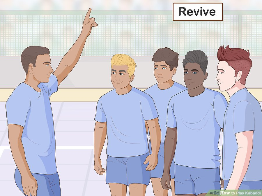 قوانین ورزش کبدی