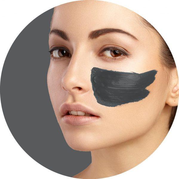 ماسک لایه بردار زغال