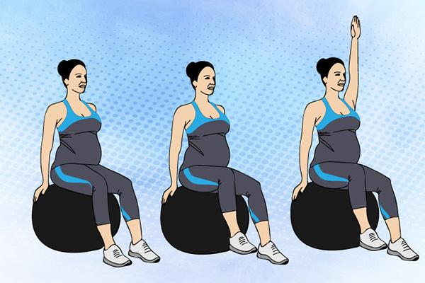 ورزش شکمی دوران بارداری