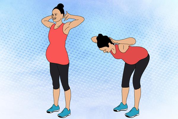 ورزش شکم در بارداری