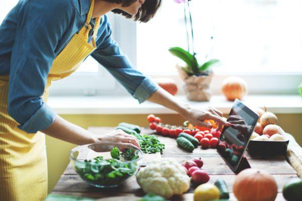 رژیم غذایی ۷ روزه برای کاهش وزن گیاهخواران