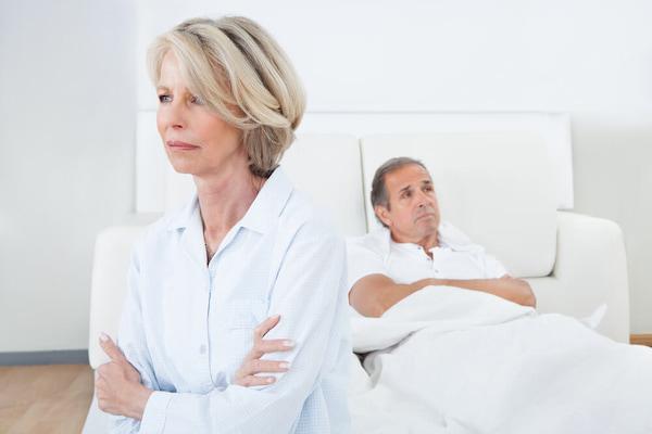 کاهش میل جنسی در همسران
