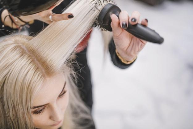صاف کردن مو بدون حرارت