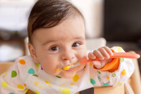 تغذیه کودک 8 ماهه
