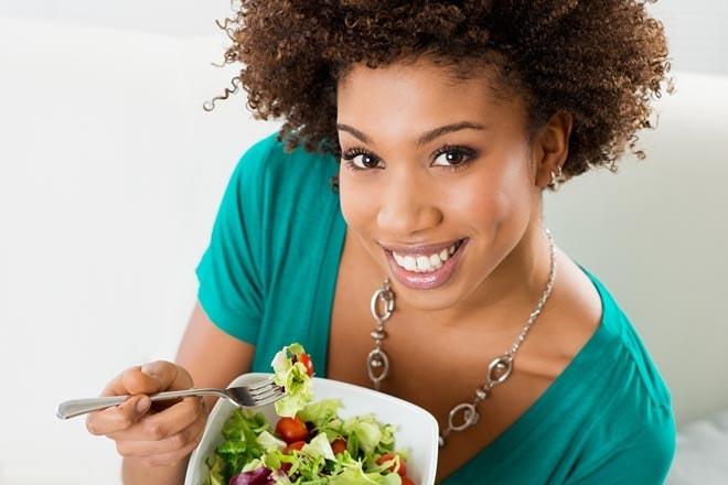 تغذیه سالم برای پیشگیری از آب مروارید