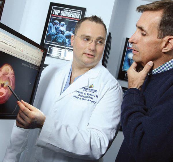 جراحی سرطان غدد بزاقی