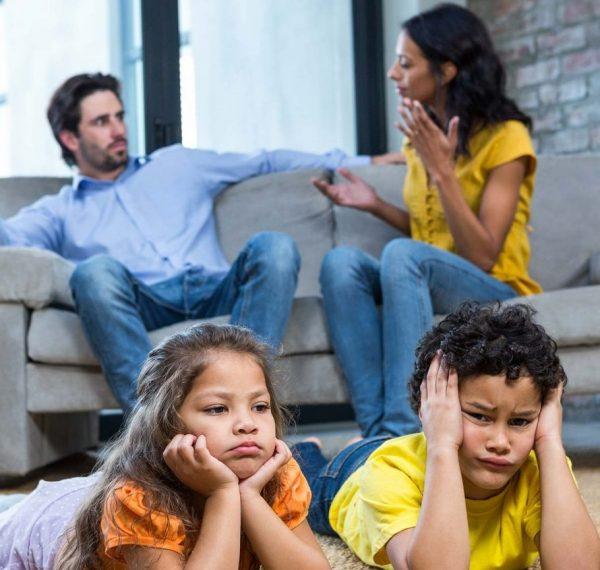 منشا مشکلات خانوادگی و زناشویی و تاثیر آن بر فرزندان