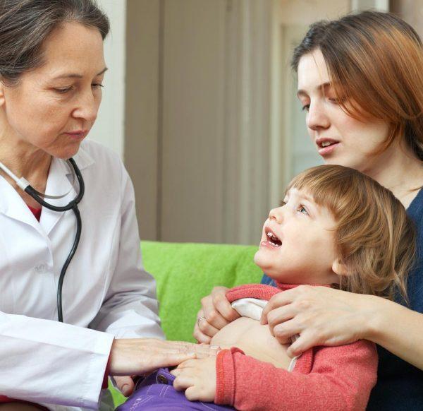 انواع بیماری های گوارشی کودکان و نحوه درمان آن