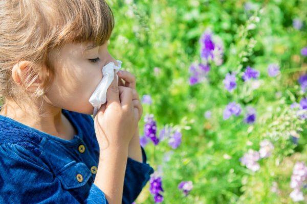 ایمونولوژی , آلرژی کودکان