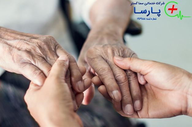 نکات مهم برای نگهداری سالمند در منزل