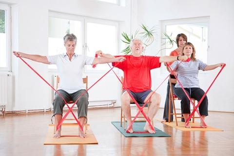 تجویز ورزش تخصصی برای افراد مبتلا به پوکی استخوان و آرتروز مفاصل