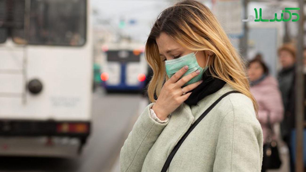 تاثیر آلودگی هوا بر مرگ و میر ناشی از کرونا