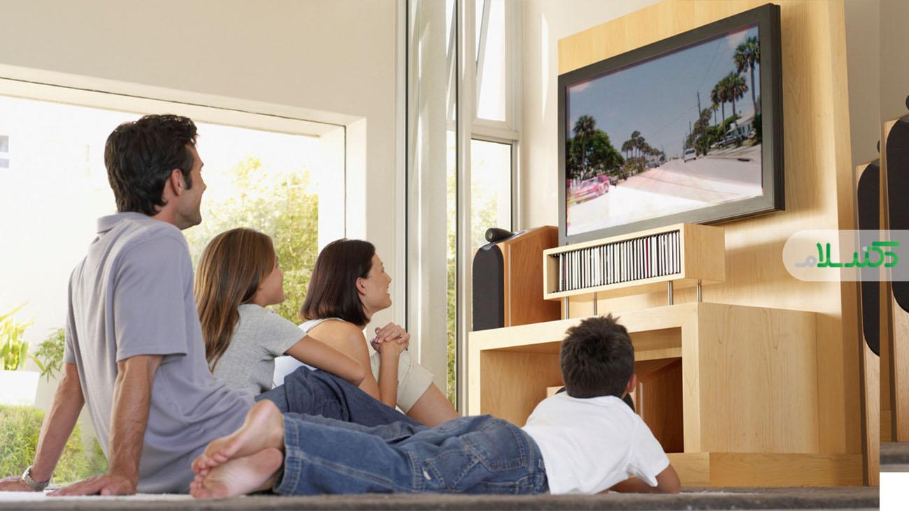 ارتباط استرس والدین و مدت زمان تماشای تلویزیون توسط فرزندان