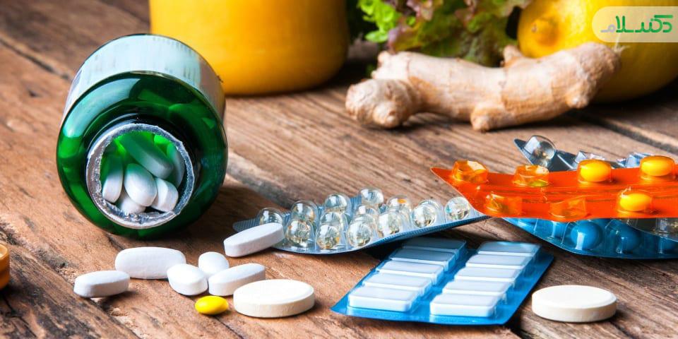 زمان مصرف ویتامین