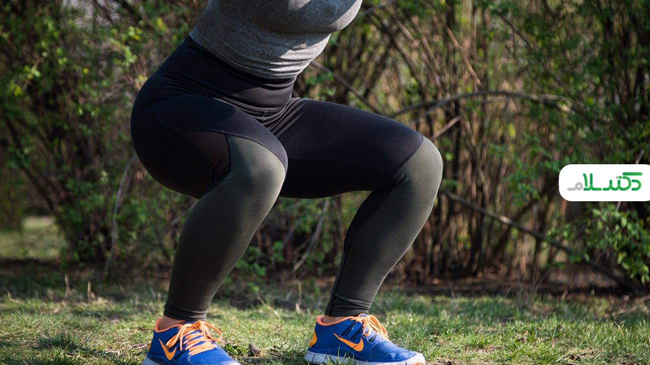 بهترین راه حل ها برای لاغر کردن پاها در منزل