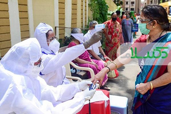 تزریق واکسن کرونا در هند آغاز شد