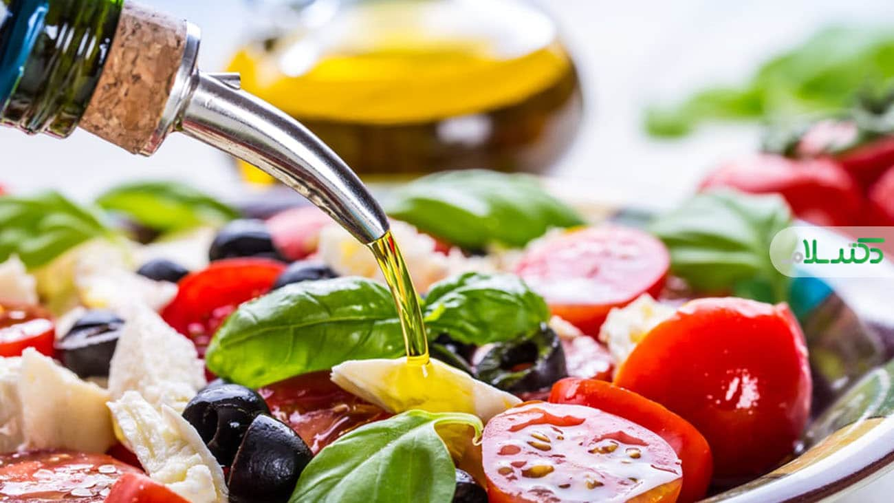 رابطه رژیم غذایی مدیترانه ای و کاهش استرس