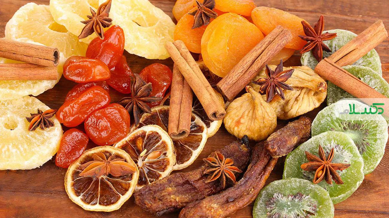 ارتباط مصرف میوه های خشک با سلامتی / آیا میوه های خشک چاق می کند؟