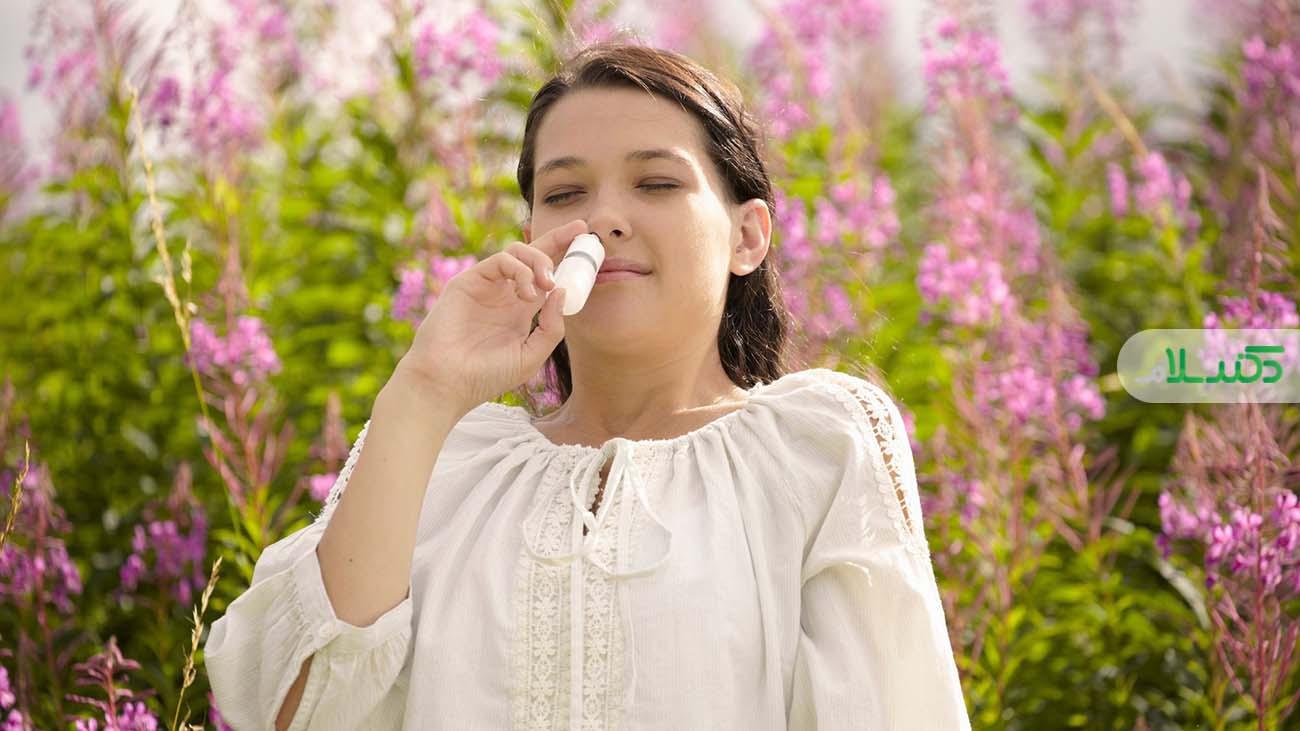 گرفتگی بینی و درمان خانگی آن