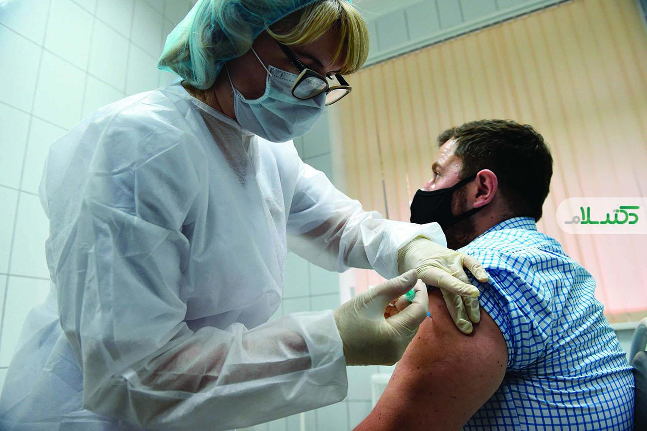 آغاز نخستین واکسیناسیون همگانی کرونا در روسیه