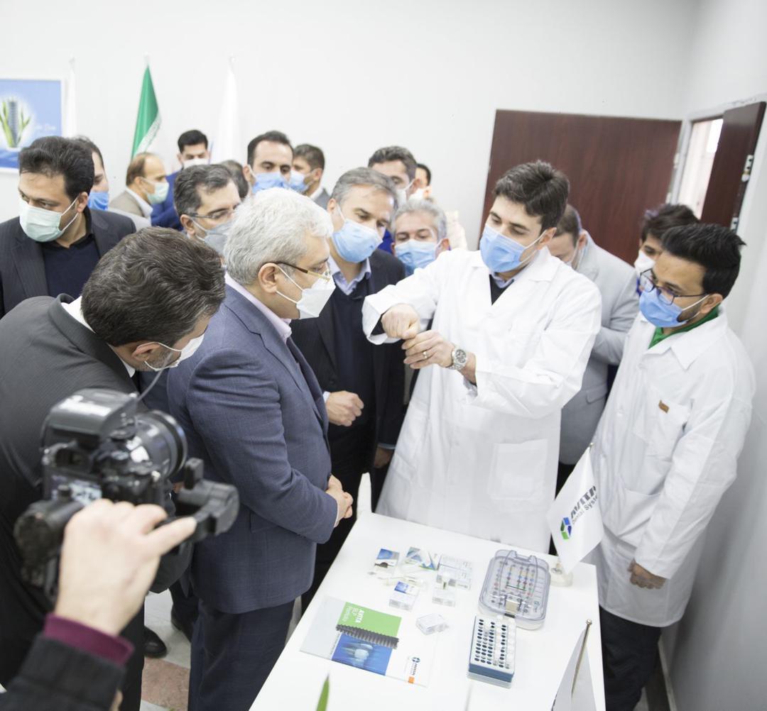 افتتاح خط تولید ملی سیستم ایمپلنت دندانی اویتا
