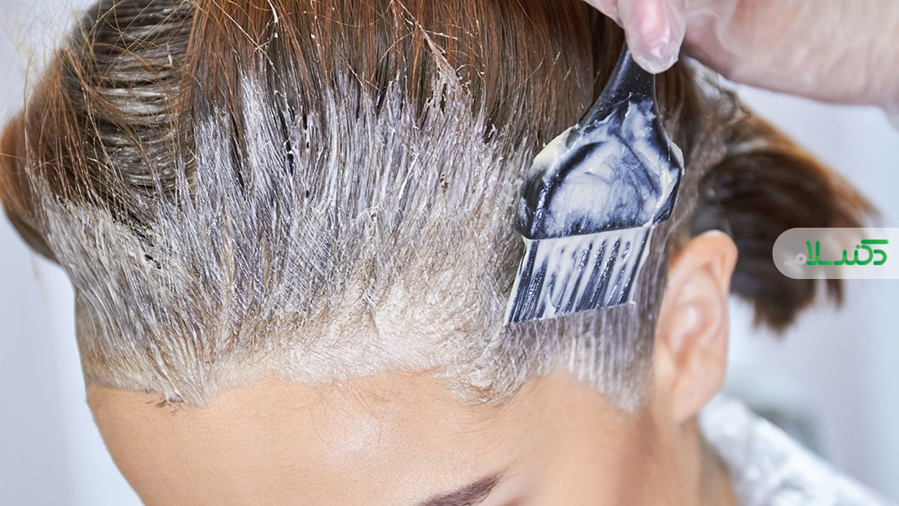 آیا رنگموباعث ریزش مو می شود؟