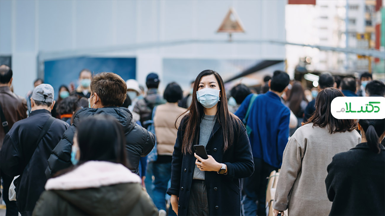 علائم نشان دهنده انتشار ویروس کرونا در ریه ها