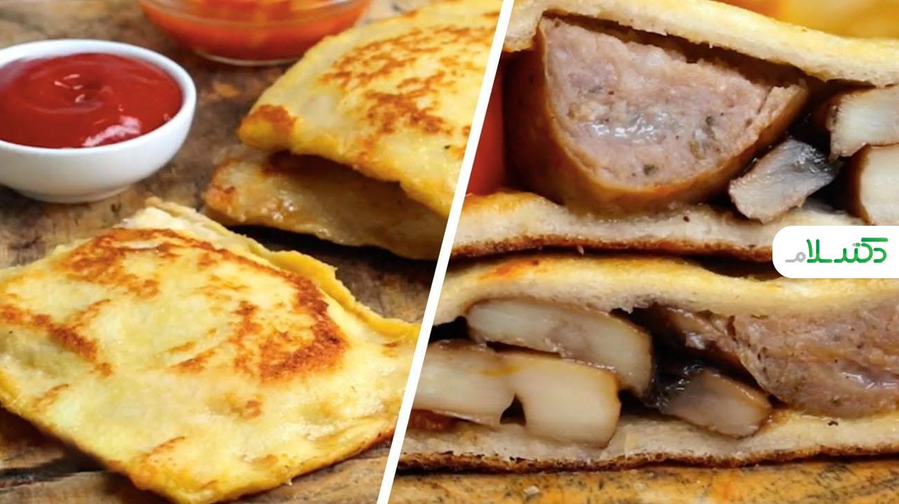 تست انگلیسی فرانسوی ، صبحانه ای جذاب و آسان + ویدئو