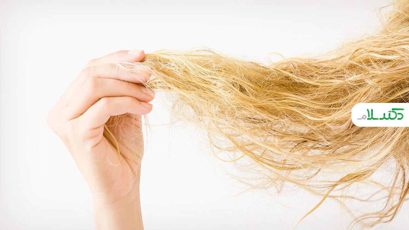 دلایل خشکی مو و راه های درمان آن