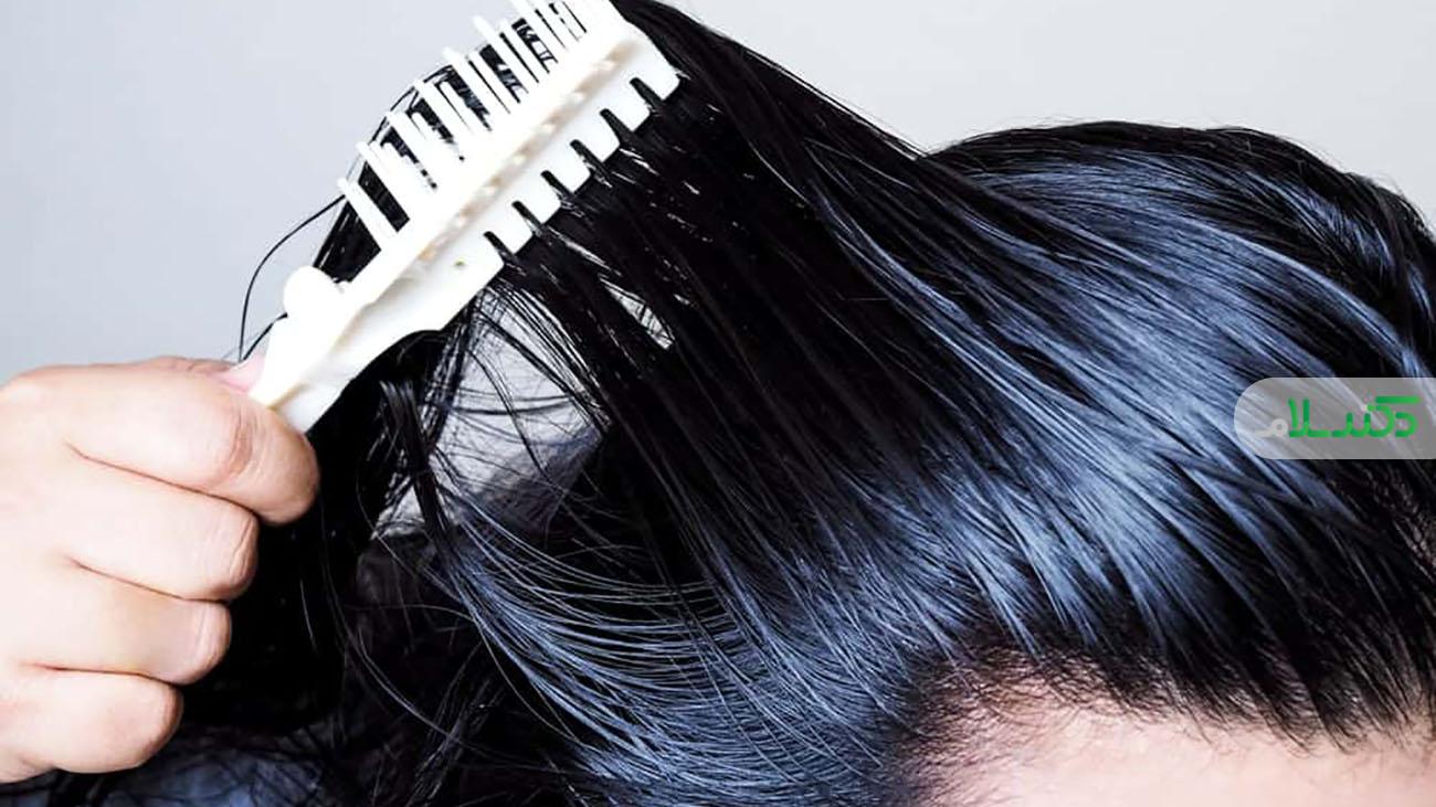 درمان موهایچرببا چند روش خانگی و طبیعی