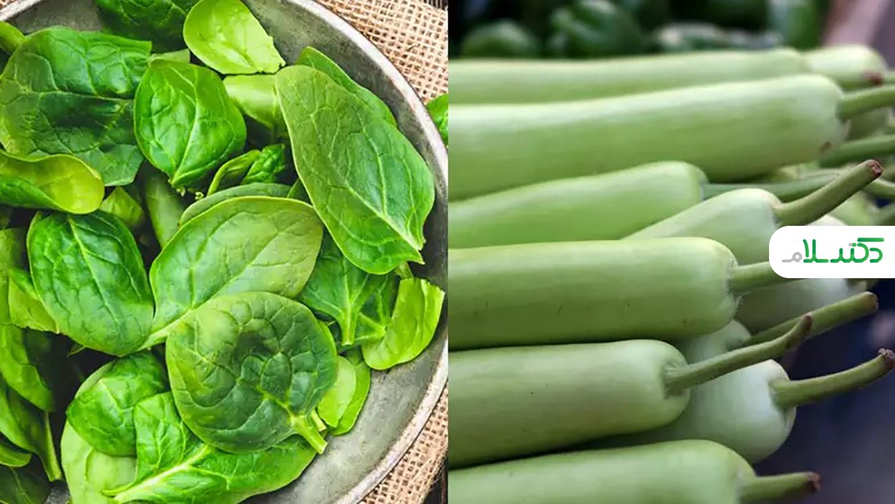 سبزیجات برگ سبز در مقابل سبزی های سبز /کدام یک بهتر است؟