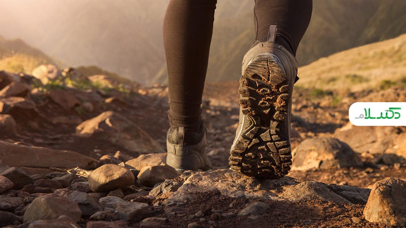 علت کمردرد هنگام پیاده روی