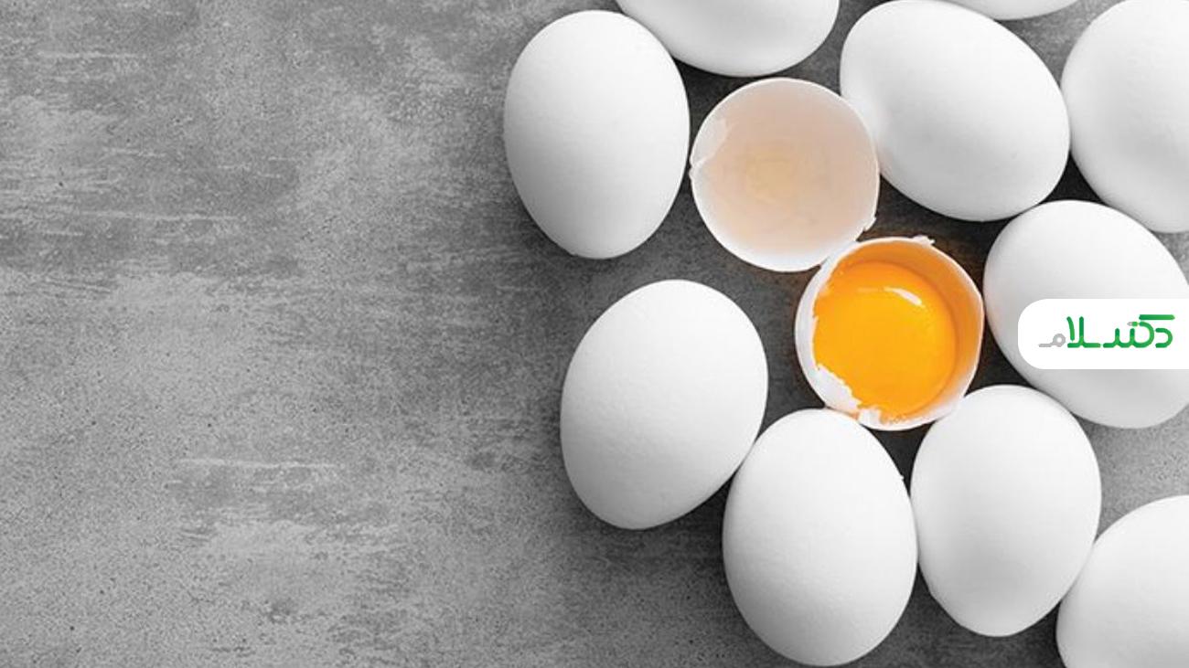 تخم مرغ چه قدرکالری دارد؟
