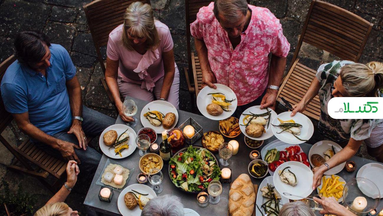 زمان مناسب شام خوردن و نکاتی برای کاهش وزن