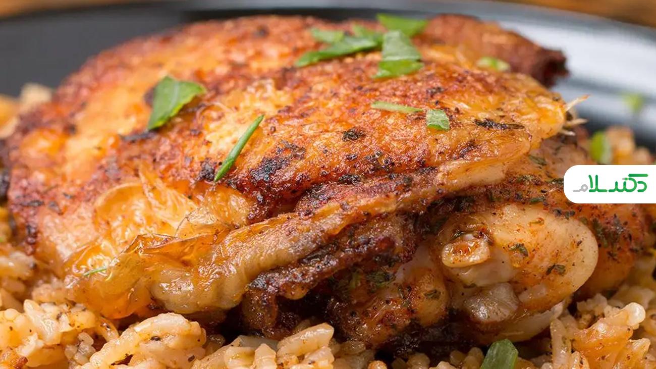 دستور پخت مرغ با شیوه ای جذاب و متفاوت